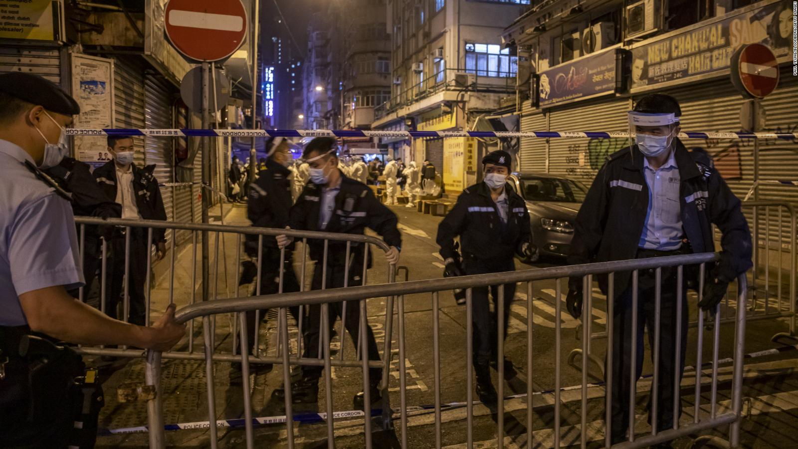 """Estrategia del """"Confinamiento inesperado"""" aplica gobierno de Hong Kong para enfrentar el Covid-19"""