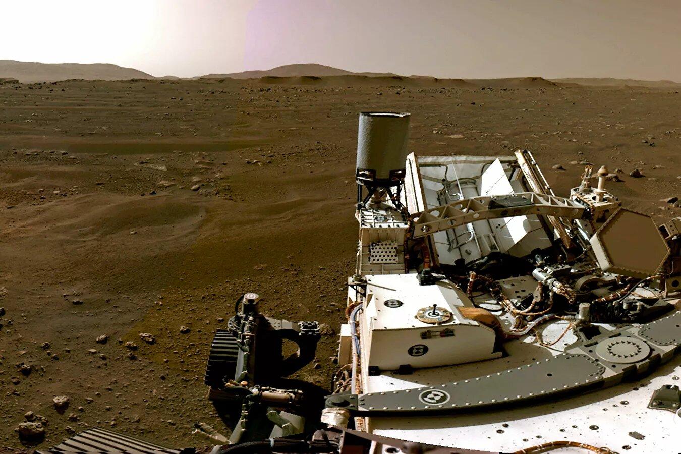 Imágenes inéditas que captó el róver Perseverance en Marte (+FOTOS)