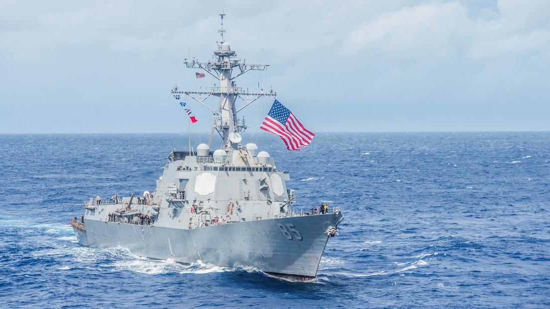 China acusa a EE.UU. de socavar estabilidad regional por navegación de buque de guerra en estrecho de Taiwán