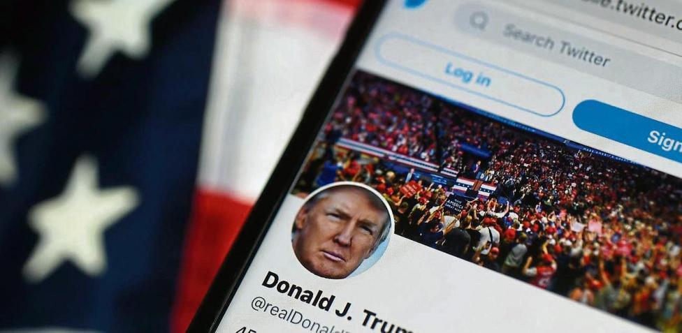 Cuenta Twitter de Trump permanecerá cerrada aunque vuelva a ganar elecciones