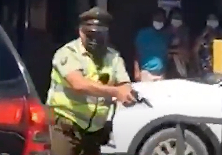 Injusticia en Panguipulli: Fiscalía pide solo arresto domiciliario pese a reconocer que último disparo de carabinero fue letal e innecesario