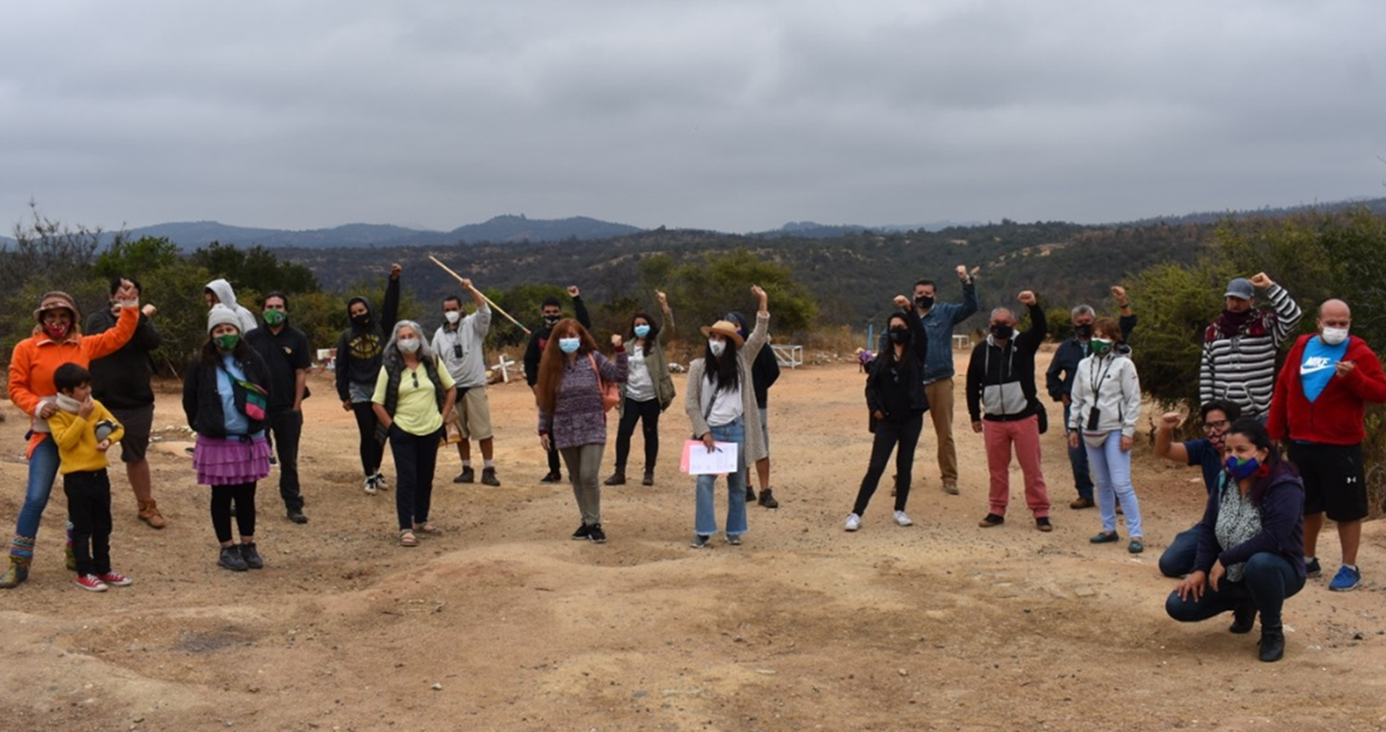 """Rodrigo Mundaca se compromete a bregar para que parque natural Cerro Los Pinos de Quilpué sea declarado """"Santuario de la Naturaleza"""""""