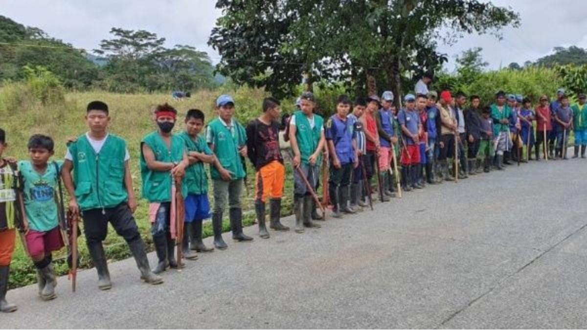 Colombia: Indígenas del Chocó instalan Minga pacífica