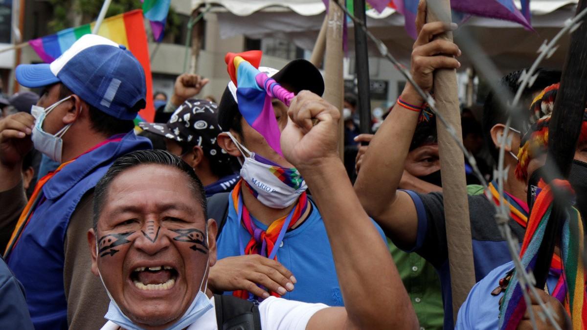 Movimiento indígena de Ecuador inicia marcha nacional hacia Quito para exigir reconteo de votos