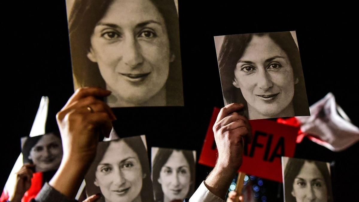 Condenan a 15 años a uno los asesinos de la periodista Daphne Galizia que lideró el caso de los 'Panama Papers»