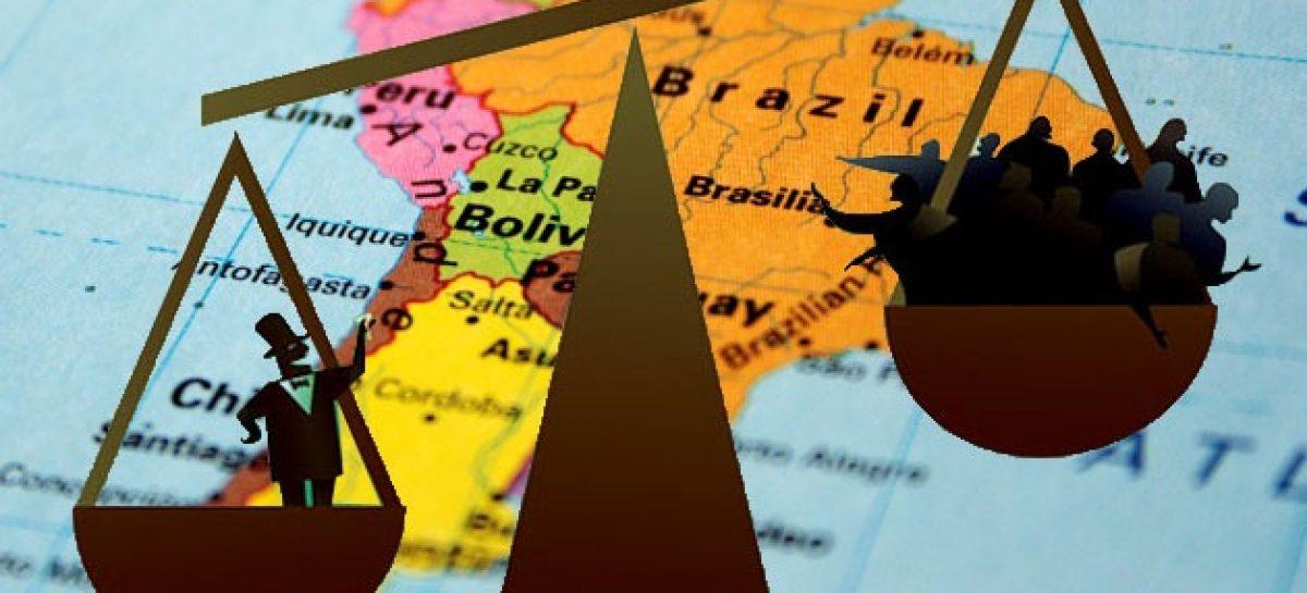 Países de América Latina destacan como los más desiguales del mundo