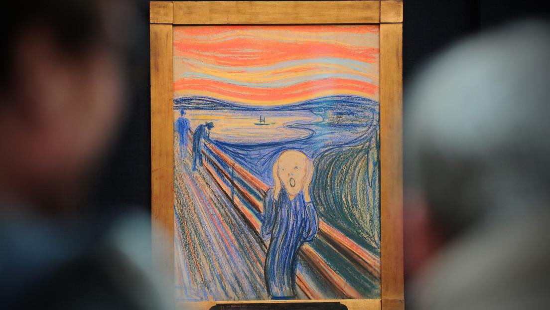 """Descifran el misterio de la frase en la obra """"El grito"""" de Edvard Munch"""