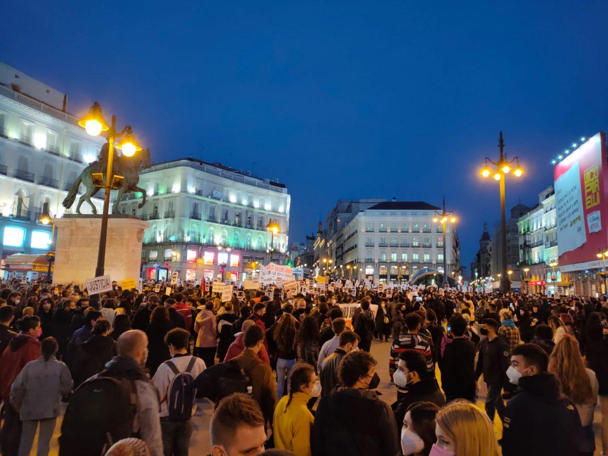 Retoman protestas en Barcelona en apoyo a Pablo Hasel