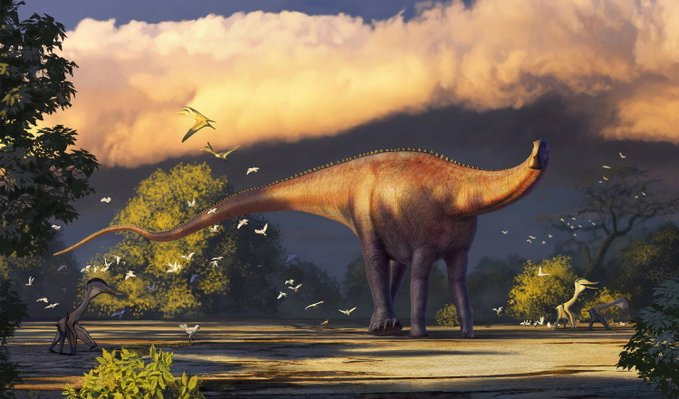 Identifican una nueva especie de dinosaurio de hace más de 90 millones de años