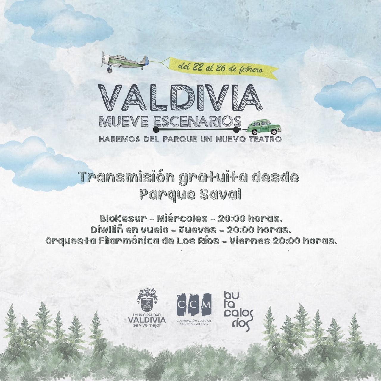 """Invitan a primera versión de """"Valdivia Mueve Escenarios"""""""