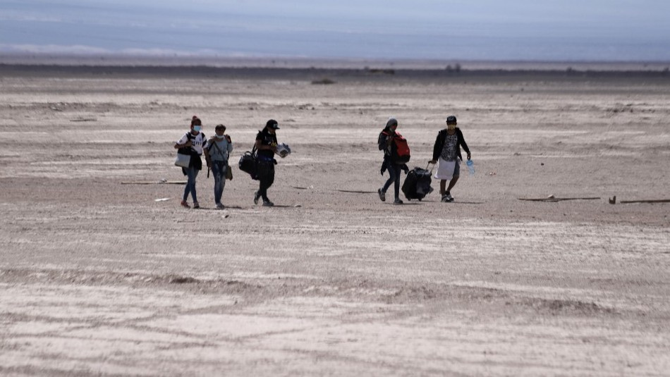 La cruda ruta de una familia migrante para quedarse en Chile