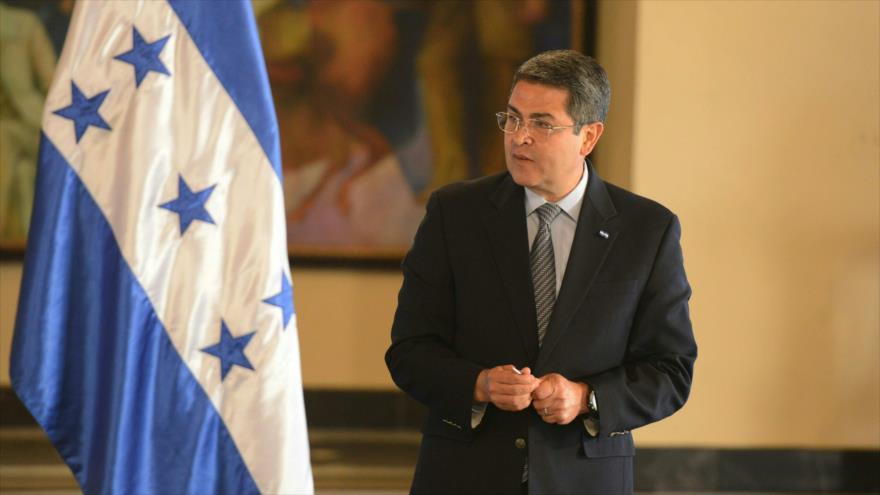 Investigan en EE. UU. a presidente de Honduras por caso de narcotraficante
