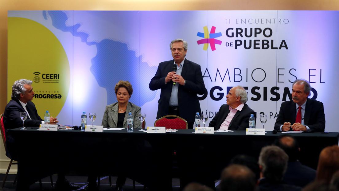 Grupo Puebla felicitó a Andrés Arauz por los resultados electorales en el Ecuador