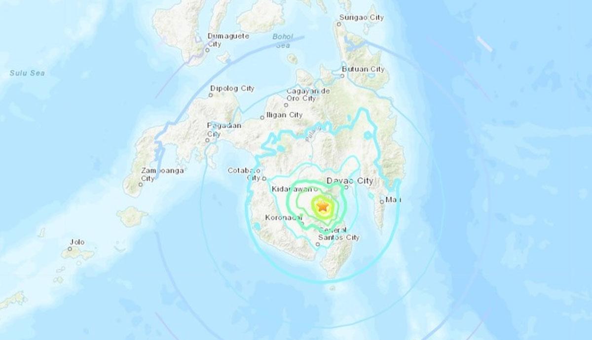 Sismo de magnitud 6.3 sacudió el sur de Filipinas