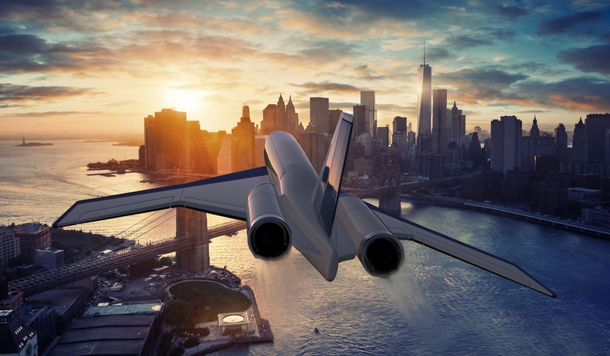 Volar de Nueva York a Londres en 90 minutos será posible en este avión supersónico (+VIDEO)