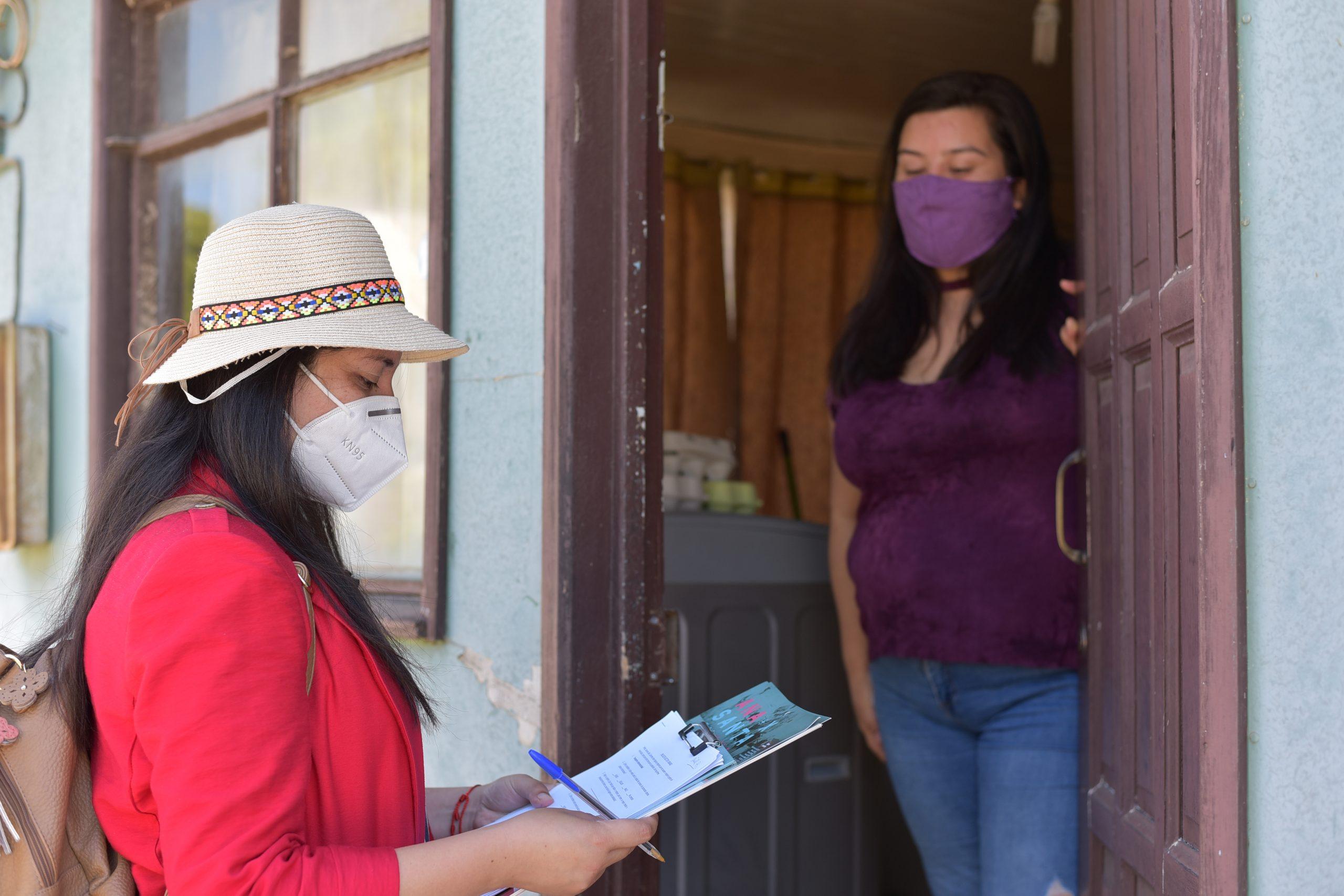 Ana Albornoz lidera encuesta para ser alcalde de Santa Juana por amplia mayoría