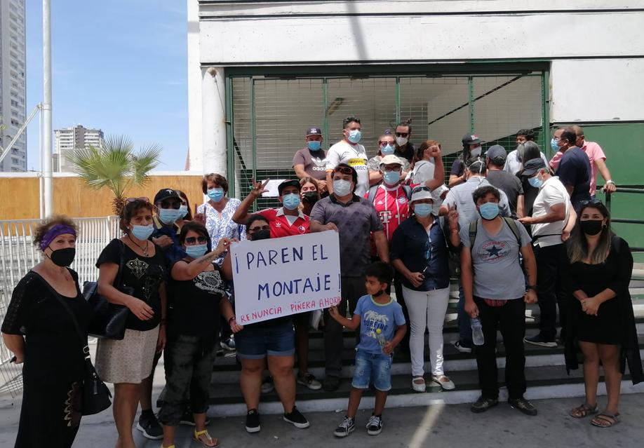 """Detención masiva de integrantes de la """"Primera Línea"""" en Iquique y Alto Hospicio. Familias acusan persecución política"""