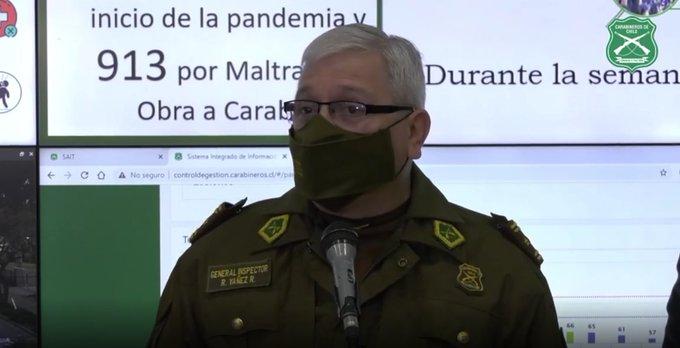 """Carabineros dilata sanción a generales, y Yáñez responde a Contraloría que hará """"estudio personal"""" antes de tomar una decisión"""
