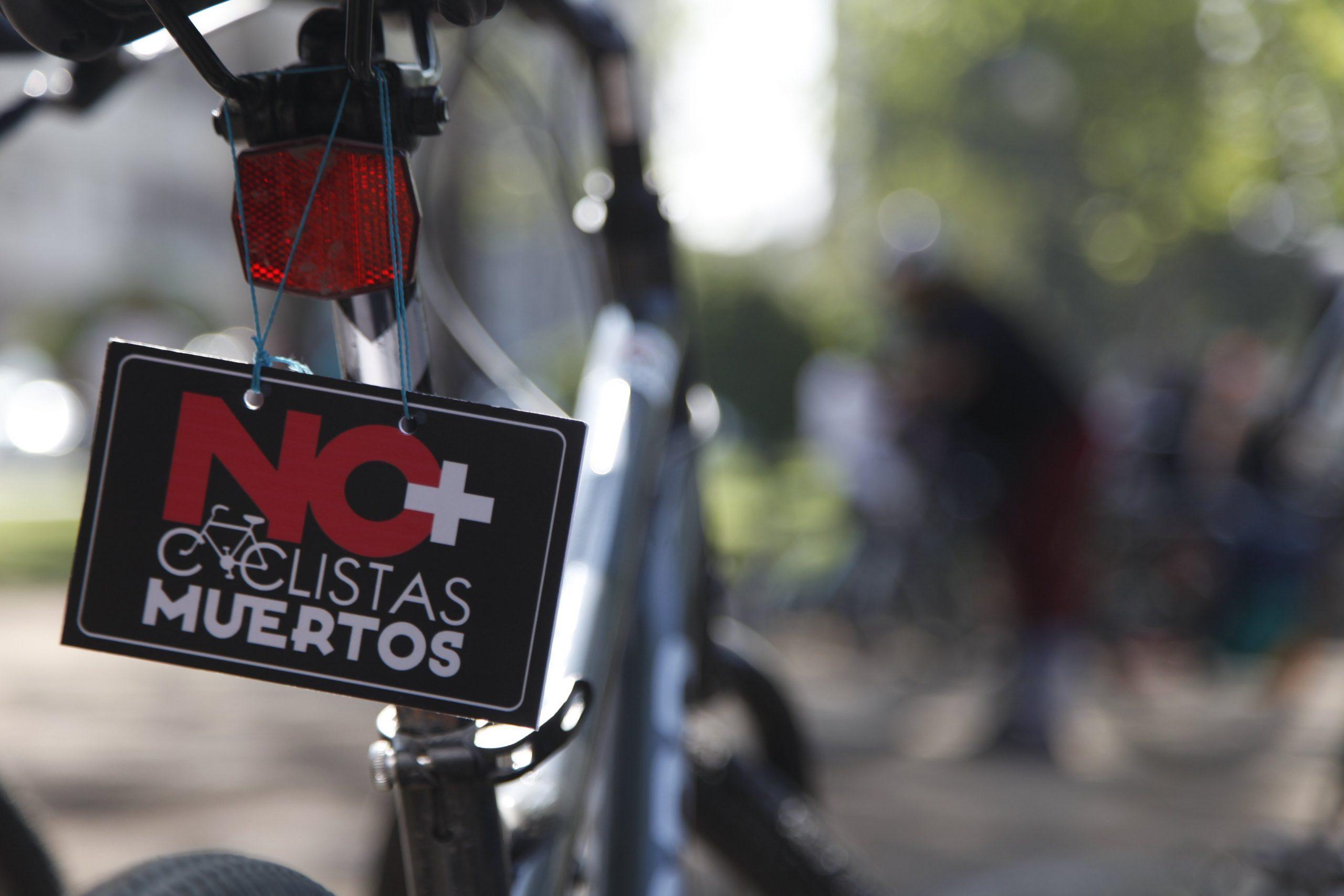 #NoMásCiclistasMuertos: Muertes de ciclistas en Chile alcanza su cifra más alta en 5 años