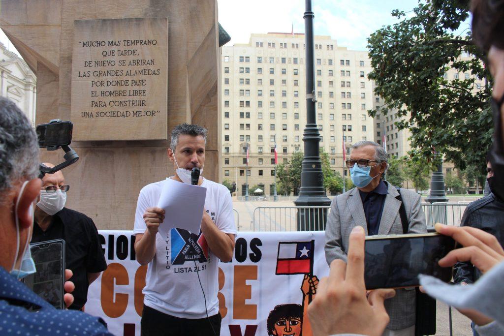Pablo Sepúlveda Allende: Se debe «renacionalizar el cobre y nuestros bienes comunes»