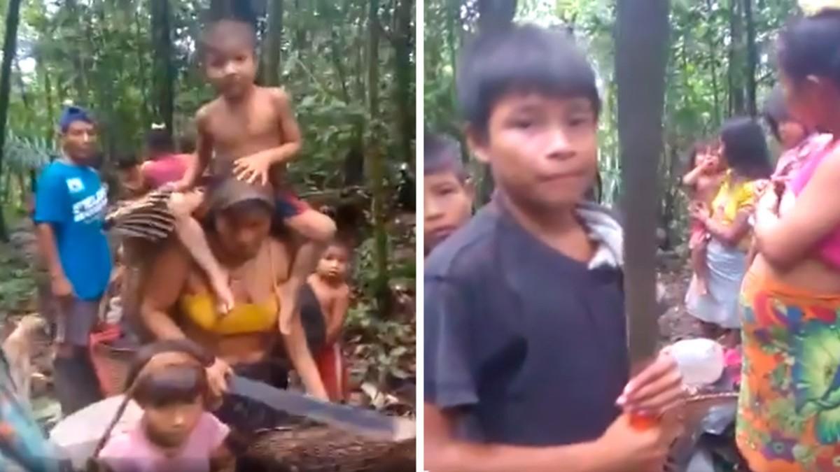 (Videos) Pueblo emberá sufre desplazamiento masivo en Colombia