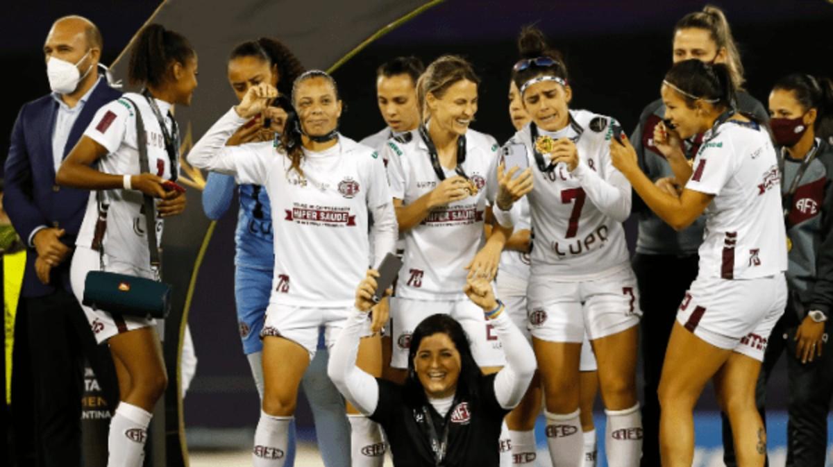Brasileñas se coronan campeonas de la Copa Libertadores Femenina