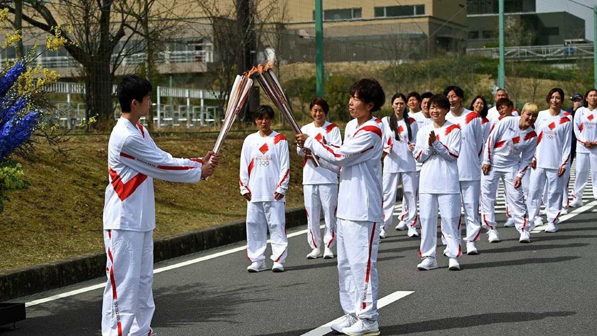 (Video) Inicia relevo de antorcha olímpica en Japón