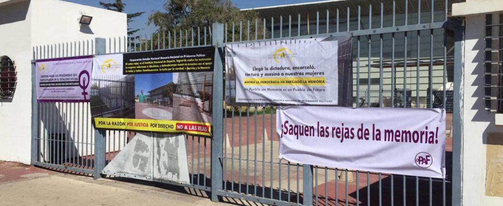 Denuncian al Ministerio de Deportes por afectar un sitio de memoria dentro del Estadio Nacional declarado monumento histórico