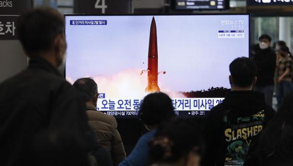 Corea del Norte lanzó un «nuevo misil guiado táctico»
