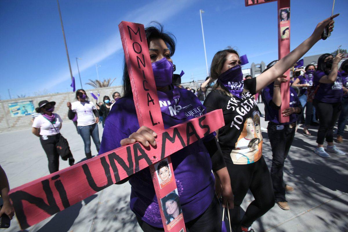 Al menos 81 lesionadas durante la marcha feminista en Ciudad de México