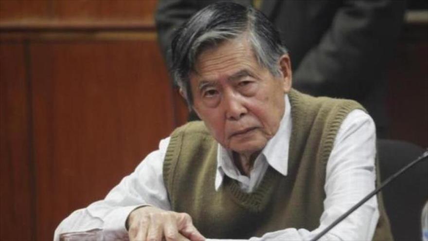 Declaran improcedente recurso de excarcelación para Alberto Fujimori