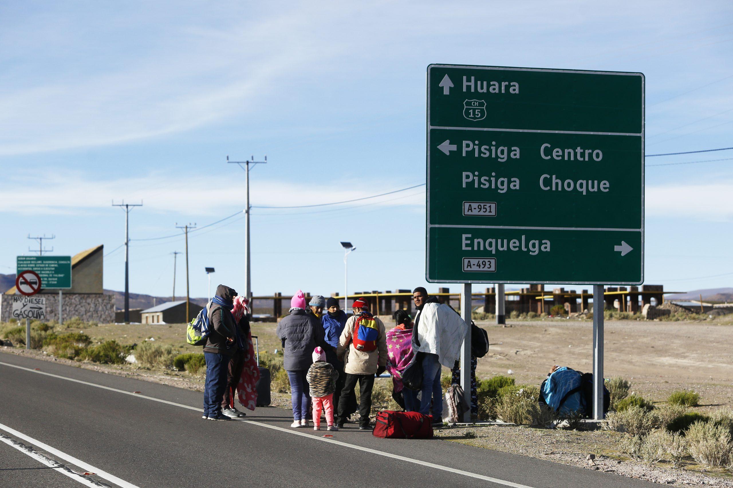 Mujer migrante murió en la frontera con Bolivia: Es el tercer caso en dos semanas
