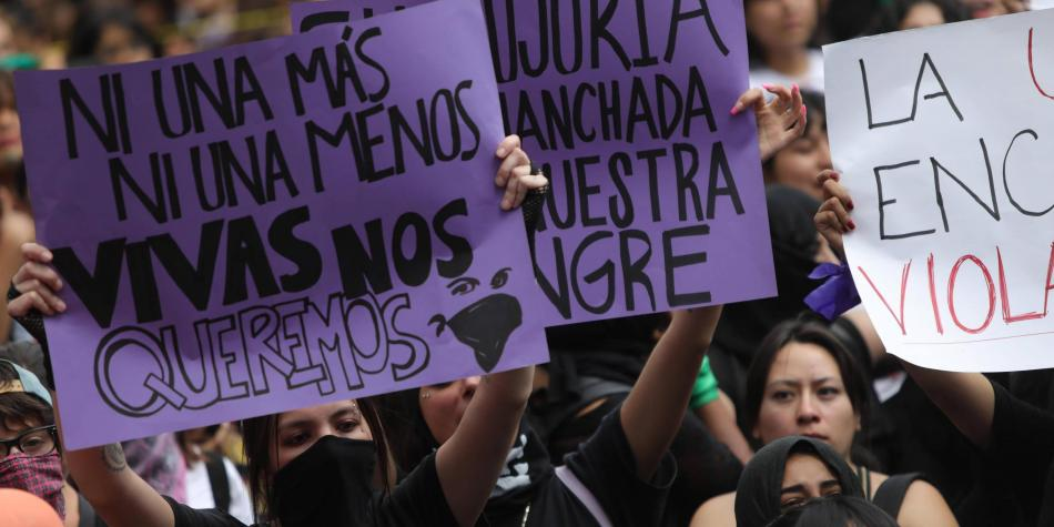 Fueron liberadas 8 mujeres tras marcha feminista