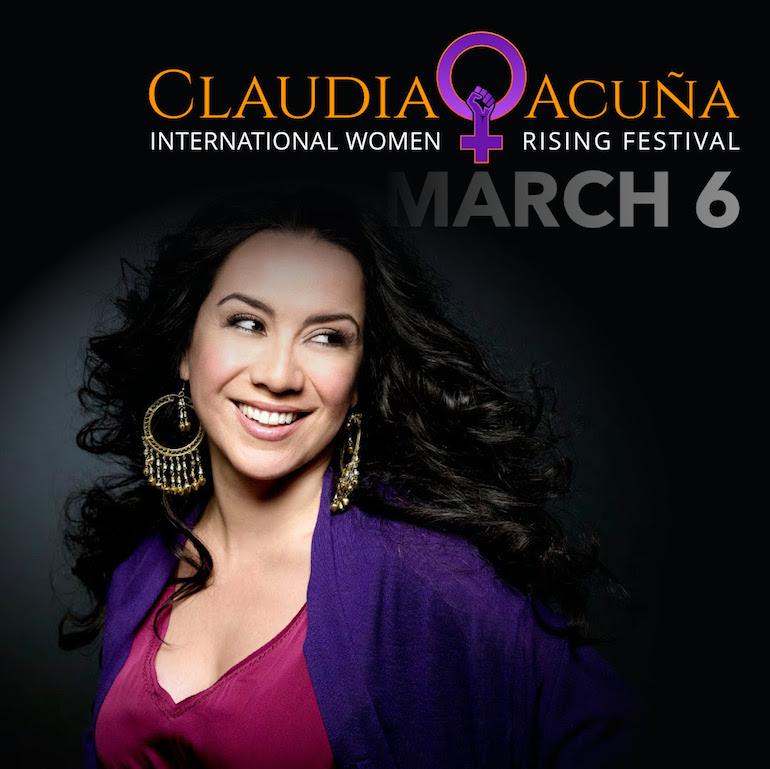 """""""Celebremos que somos una"""": Claudia Acuña ofrecerá dos conciertos este fin de semana"""