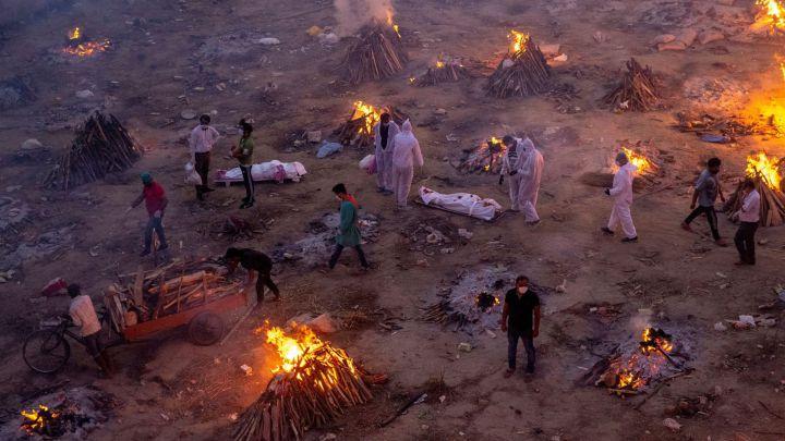 India rebasó las 200.000 muertes por Covid-19