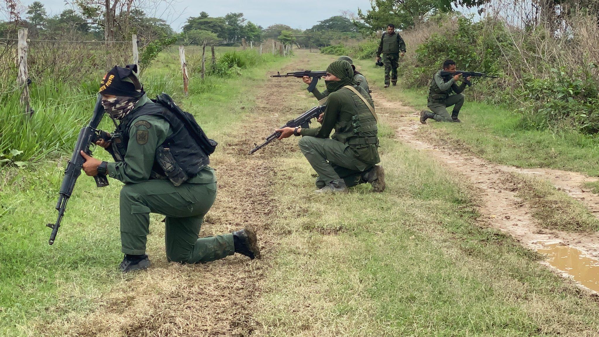Ocho soldados muertos y 34 heridos en combates con grupos irregulares colombianos reportó Venezuela