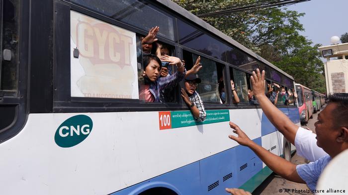Amnistía por Año Nuevo Budista: Junta Militar de Myanmar liberó a más de 23.000 presos