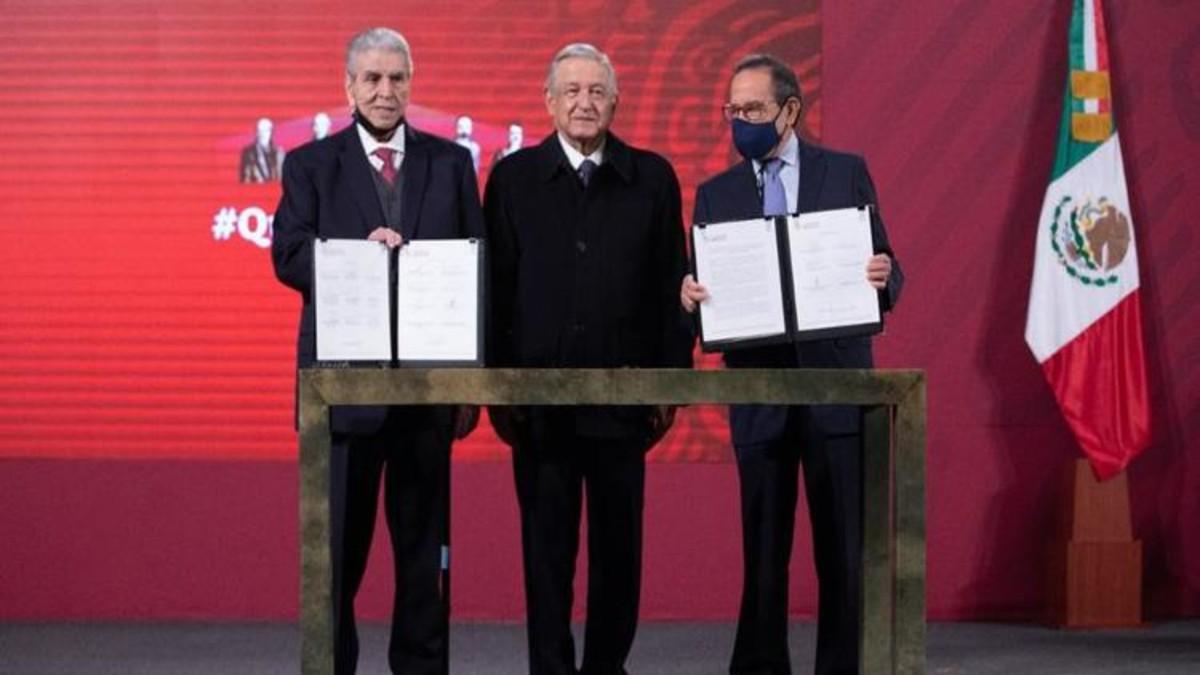 Sindicatos, empresarios y Gobierno de México acuerdan regular subcontrataciones