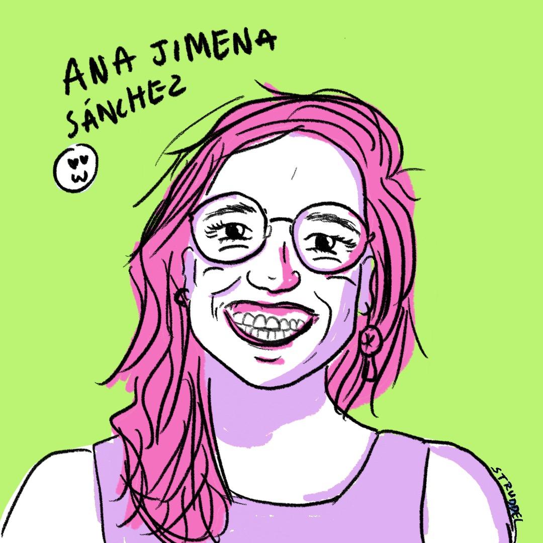 Ana Jimena Sánchez: multitasker, lingüista del corazón, gurú de la poesía viva