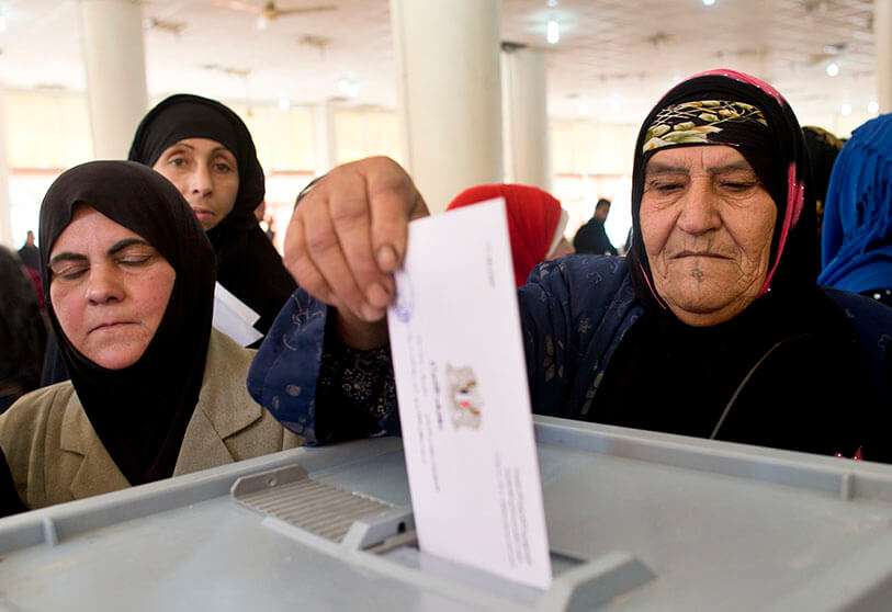 Inicia el conteo de votos en Siria tras cierre de mesas electorales
