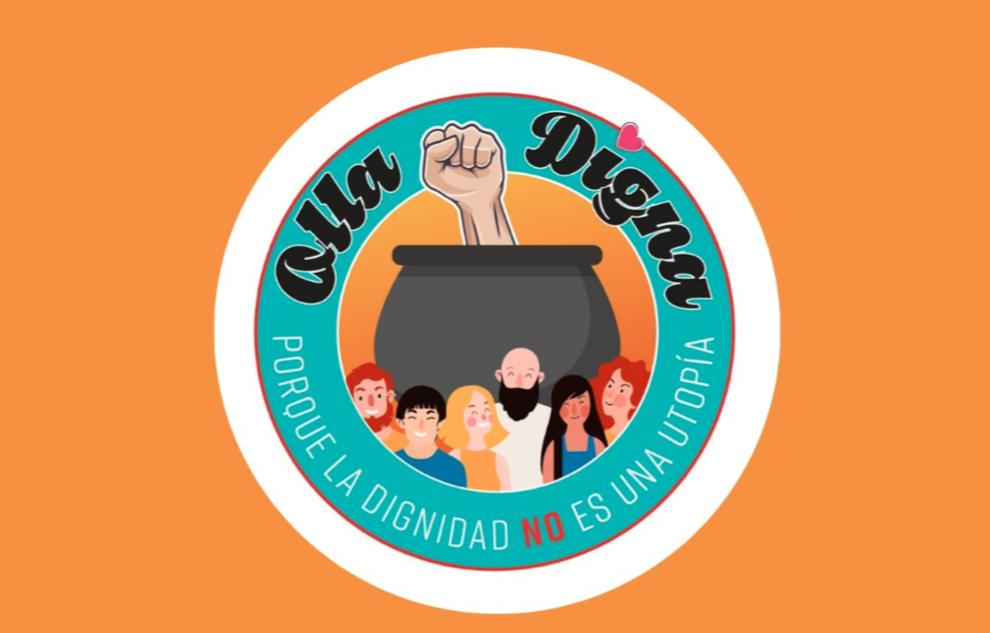 """""""La Olla Digna"""": sin apoyo gubernamental, esta iniciativa usa la solidaridad y las redes para coordinar apoyo de varias «ollas comunes» a lo largo de Chile"""