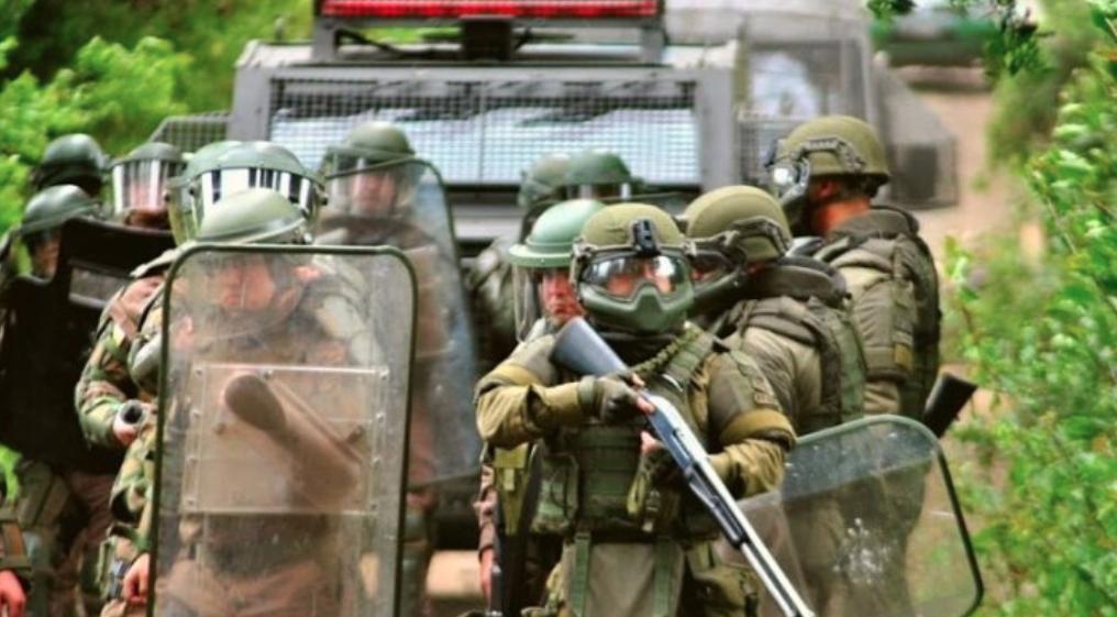 Triste Funeral Mapuche: Despedida al lonco Luis Tranamil termina con represión, violencia y detenciones por parte de Carabineros