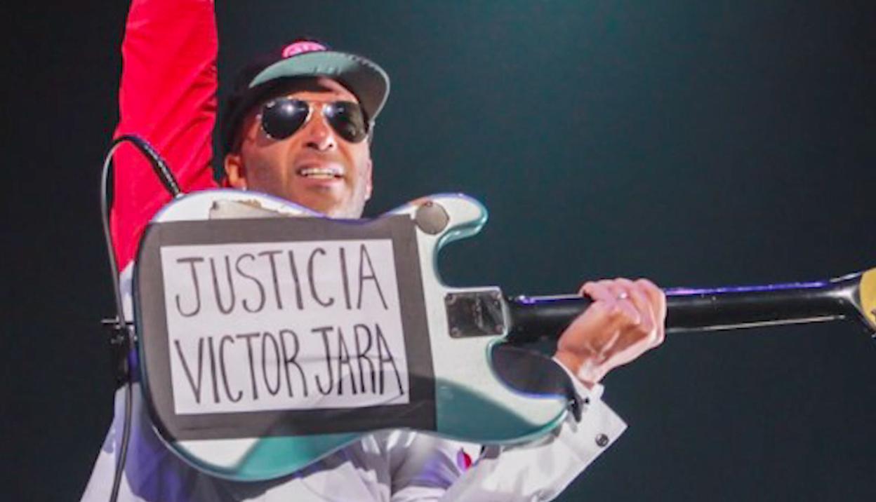 Tom Morello: «Cuando los músicos a través del mundo trabajan por un planeta más justo y decente, el espíritu de Víctor Jara está presente»