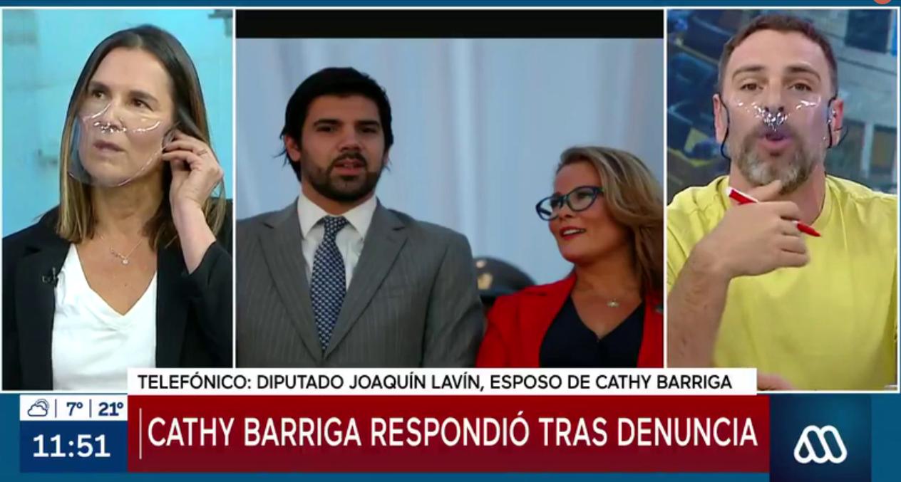 [VIDEO] El tenso momento entre el diputado Joaquin Lavín y José Antonio Neme por el reportaje sobre irregularidades de Cathy Barriga en Maipú