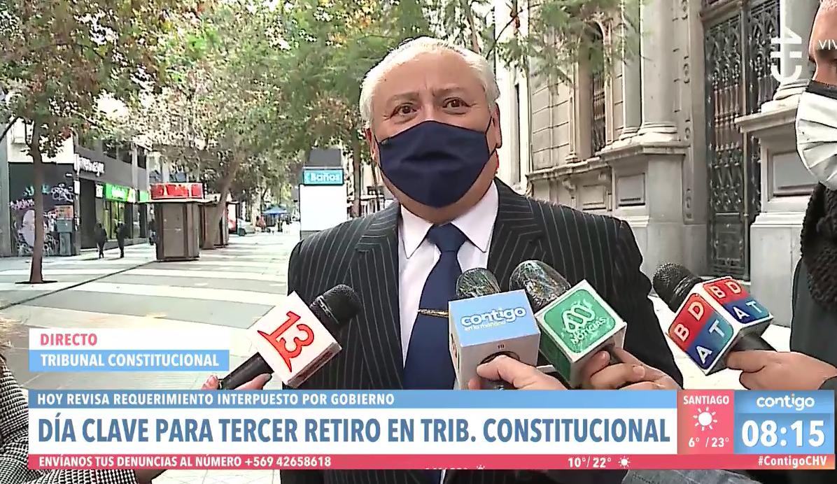 [VIDEO] Iván Aróstica desliza cambio en los votos en el Tribunal Constitucional y respalda denuncias de funcionarios contra María Luisa Brahm