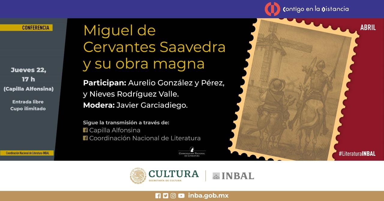 Recordarán a Miguel de Cervantes en su 405 aniversario luctuoso