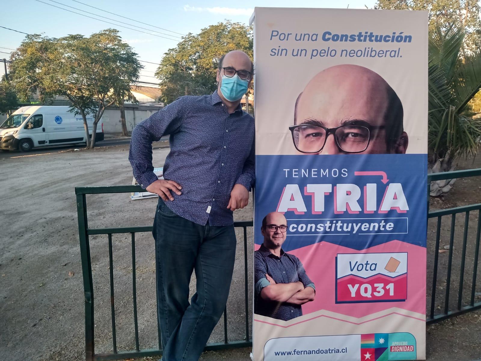 Fernando Atria, candidato constituyente: «Nos hemos acostumbrado a una forma política donde nadie responde por nada»