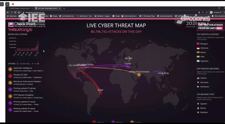 Tecnología y seguridad en las elecciones: conferencia magistral del COTAPREP
