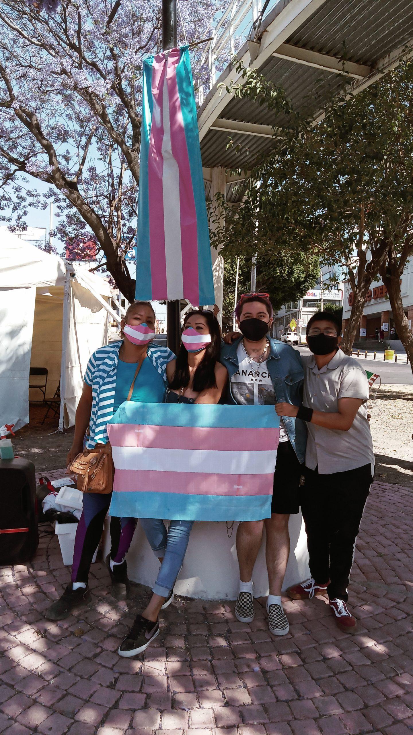 Continúan la batalla por visibilizar a la comunidad Trans en Puebla