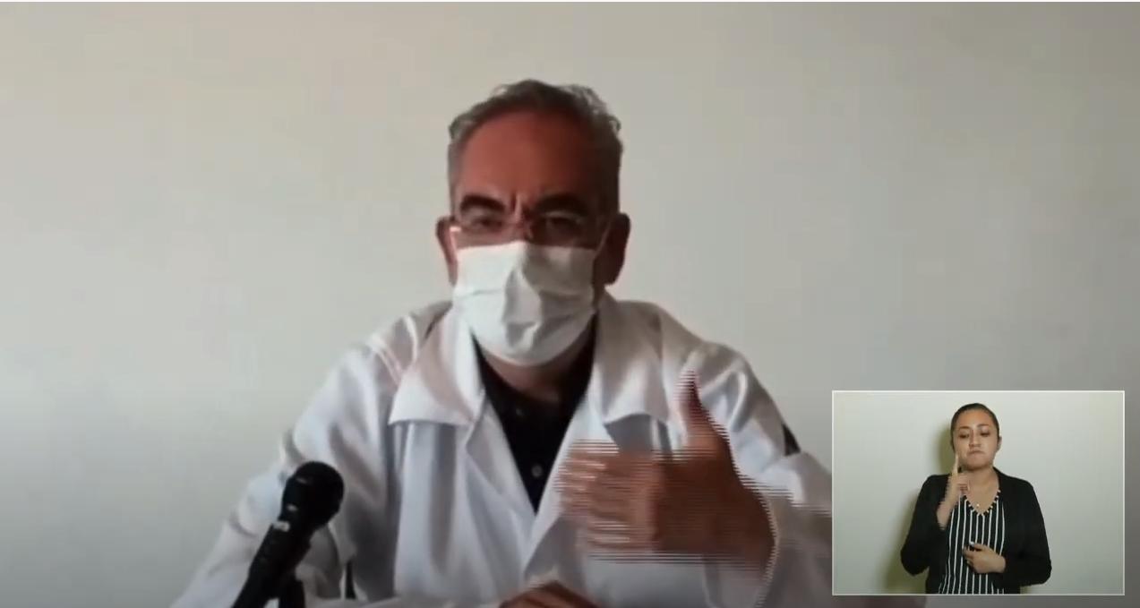 Una vez más, descarta secretario de Salud aparición de variantes exóticas de SARS-CoV2 en Puebla